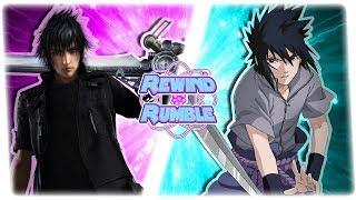 SASUKE vs NOCTIS! (Naruto vs Final Fantasy 3D Animation) | REWIND RUMBLE