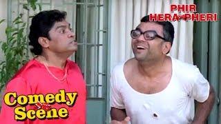Johnny Lever & Paresh Rawal Funny Argument- Comedy Scene   Phir Hera Pheri   Hindi Film