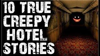 10 TRUE Horrifying Scary Hotel Stories To Creepy You Out! | (Scary Stories)
