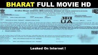 BHARAT FULL MOVIE HD | Salman Khan | Katrina Kaif | Leaked on The Internet