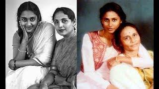 20 Famous Hindi Film Heroines with their Mothers २० मशहूर हिंदी फिल्म  अदाकारा अपनी माओ  के  साथ