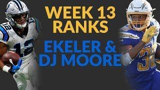 Austin Ekeler And DJ Moore Climb The Fantasy Football Ranks: Let's Break Down Their Film!