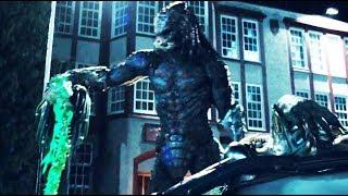 The Predator 2018 -  Fight Scenes BIG PREDATOR  Full Battle  [HD] PART 1