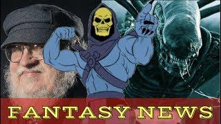 GAME OF THRONES ENDING, JOHNNY DEPP LEAVING FANTASTIC BEASTS, HE MAN OOFS - FANTASY NEWS