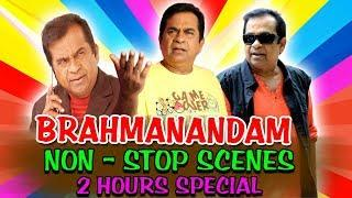 Brahmamandam Non Stop Comedy 2 Hours Special | South Indian Hindi Dubbed Best Comedy Scenes
