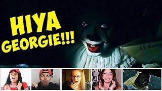 Reactors Reactions To The Iconic But SCARY Sewer Scene From IT