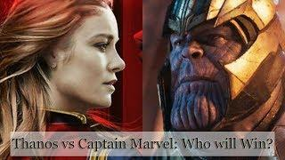 Thanos Vs Captain Marvel – Here's Why Captain Marvel Is The Only One To Defeat Thanos