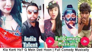 Kia Kerti Ho? G Mein Deti Hoon | Full Comedy Musically | #Top5Presents