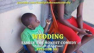 WEDDING (Family The Honest Comedy) Mark Angel Comedy like (Episode 164)