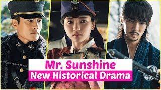 """Mr Sunshine"" Upcoming Historical Drama 2018 Starring Lee Byung Hun, Kim Tae Ri and Yoo Yeon Seok"