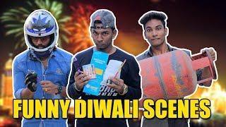Funny Diwali Scenes | Hyderabadi Comedy | Warangal Diaries