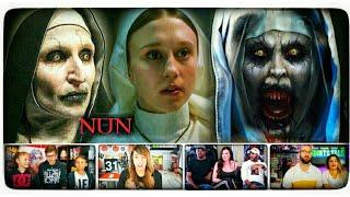 The NUN - The Jump Scare Scene Reaction | The Nun Trailer Reaction | The Nun Trailer 2018