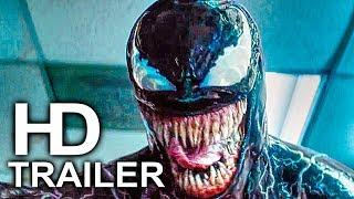VENOM Eats Human Alive Scene Clip + Trailer NEW (2018) Spider-Man Spin-Off Superhero Movie HD