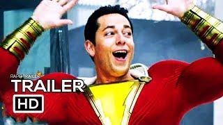 SHAZAM! Meet Shazam Trailer NEW (2019) Superhero Movie HD