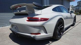 2018 Porsche GT3 Chalk - Full Suntek Ultra Paint Protection Film and CQuartz Finest Reserve