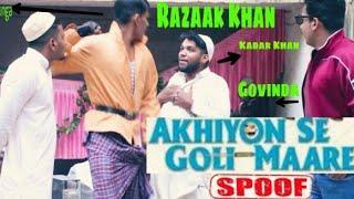 Akhiyon Se Goli Maare SPOOF | COMEDY MOVIE | Hindi Movie | Govinda | Kadar Khan | Razaak khan |