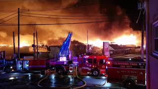 P-7  HISTORIC MARCAL PAPER FACTORY INFERNO  ELMWOOD PARK NJ 1-30-19