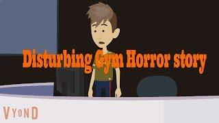 Disturbing GYM Scary Story (Animated in Hindi) |IamRocker|