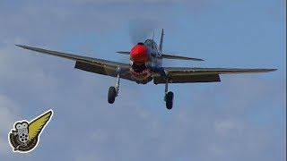 WW2 Fighter Aircraft -- Close Up And Personal