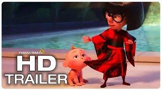 INCREDIBLES 2 Edna Helps Mr. Incredible To Control Jack Jack Trailer (NEW 2018) Superhero Movie HD