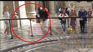 Real Ghost Caught in Paris, 2017 (Scary ghost girl spotted)
