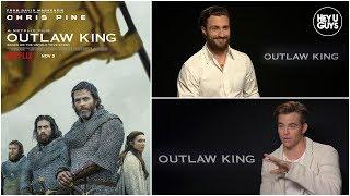 Chris Pine, Aaron Taylor Johnson & Billy Howle on Scottish epic Outlaw King