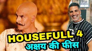 "Akshay kumar Salary For His Upcoming Comedy Movie ""HouseFull 4"", akshay kumar"