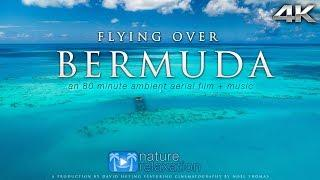 Flying Over BERMUDA [4K UHD] NEW 80 Min Aerial Drone Film + Music