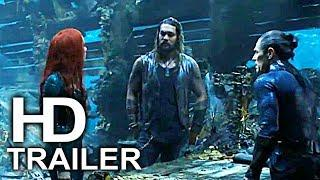 AQUAMAN Retrieve Trident Of Neptune Scene Clip + Trailer NEW (2018) Superhero Movie HD