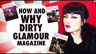 HOW AND WHY I CREATED A MAGAZINE | SELF PUBLISH | PINUP | VINTAGE | FANTASY | BOUDOIR | PHOTOGRAPHY