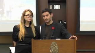 Her Heart Movie Premier in Ottawa Oct 30 2018 Introduction