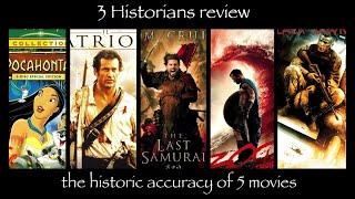 The History Behind 5 Historical Movies: What was historically accurate and what was not?