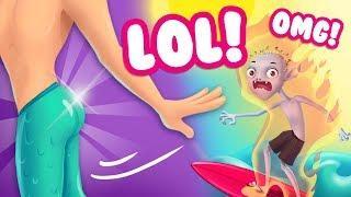 FAILS & FUNNY MOMENTS COMPILATION ???? Secret Magic Shop - Fun Fantasy World for Kids | TutoTOONS Ga