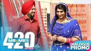Comedy Scene - Mr & Mrs 420 Returns || Punjabi Movies 2018 || Lokdhun