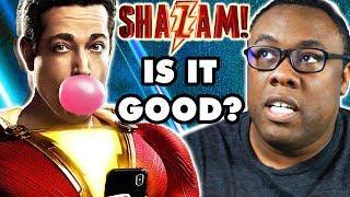 SHAZAM! Movie Review ⚡  Good, Bad & Nerdy