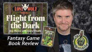 'Lone Wolf: Book 1: Flight from the Dark' - Fantasy Game Book Review