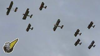The Largest WW1 Aircraft Flypast Since The 1920's