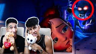 REACTING TO THE MOST SCARY ANIMATIONS EVER ON YOUTUBE (DO NOT WATCH BEFORE BED)