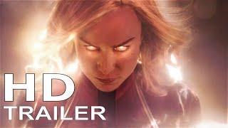 Captain Marvel (2019 Movie) Concept Trailer BRIE LARSON, Marvel Comics