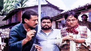 Jackie Shroff Playing Marbles Comedy Scene   Izzat Hindi Movie