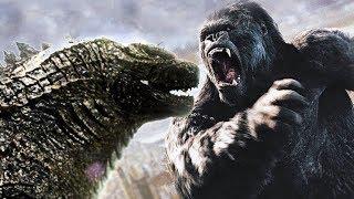 "GODZILLA vs KING KONG - ""Historical Scenes"" Movie CLIPS [HD]"