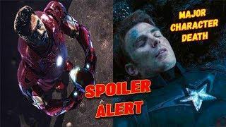 Avengers Endgame Major Character Death Spoiled in OSCARS 2019