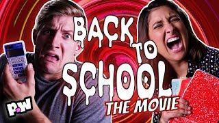 """Back to School"" - Scary Not Scary Fake Movie Trailer - End of Summer Scary Movie"