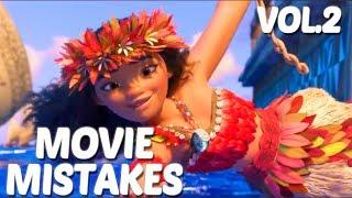Moana Movie Mistakes You Missed | Disney Goofs & Fails