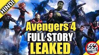 Avengers 4 : Full Detailed Story Leaked [Hindi] | Superhero Talks