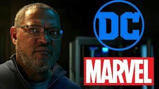 Laurence Fishburne Says He's Likely Out Of The DCEU