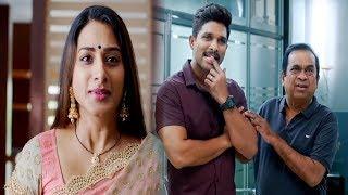 Allu Arjun & Surekha Vani Latest Comedy Scene | Telugu Comedy Scene | Comedy Junction