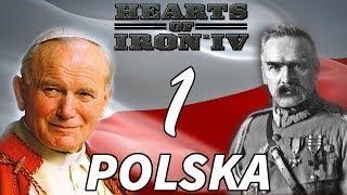 Hearts of Iron 4 PL Historical Poland #1 Niepodległa Polska