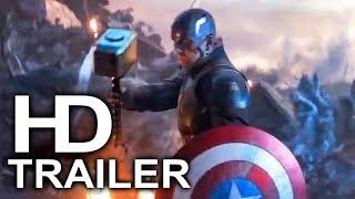 AVENGERS 4 ENDGAME Captain America Lifts Thor's Hammer Mjolnir Trailer (2019) Superhero Movie HD