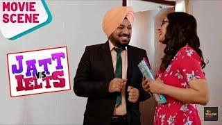 Sorry Sir | Gurpreet Ghuggi | Comedy Movie Scene | JATT vs IELTS | Latest Punjabi Movies 2018